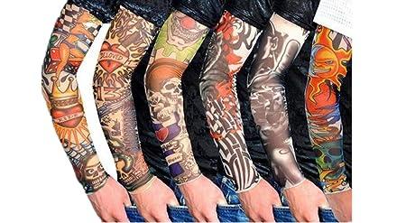 Ssowun 6 pares Manga del tatuaje,Fletion Mangas del brazo de ...