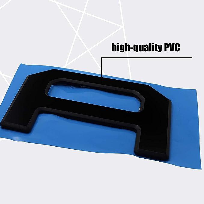 Tailgate Insert Raise Letter For Toyota Tundra 2014-2018 3D ABS hard PVC Stiff Sticker Decoration,Matt Black Yi Tech Industry Ltd