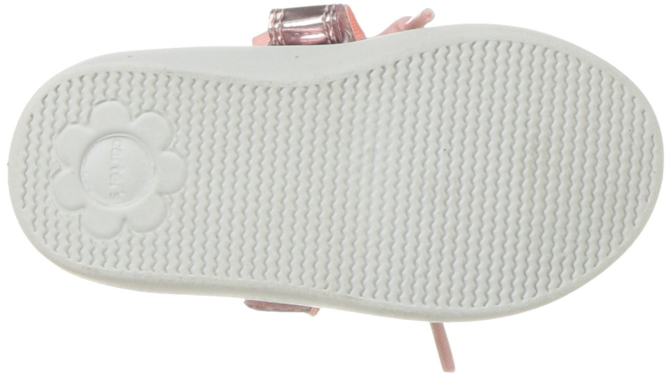 Carter's Girls' Alberta Bow Mary Jane Flat, Pink, 3 M US Little Kid by Carter's (Image #3)