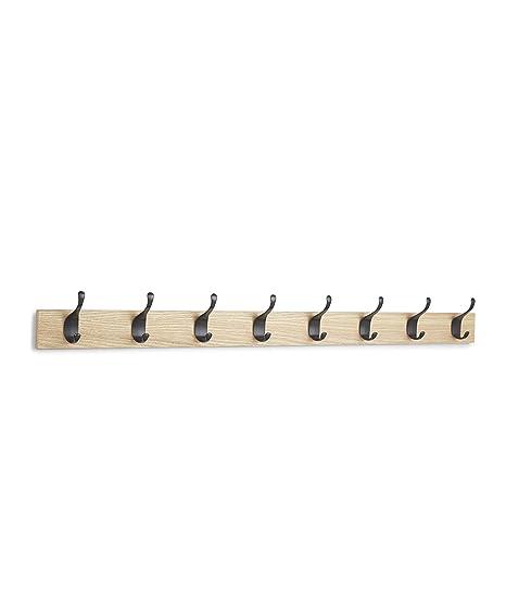 AmazonBasics - Perchero de pared, 8 ganchos modernos ...