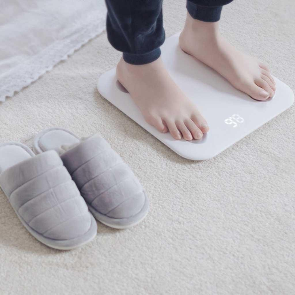 Body Fat Scales Precision Intelligent Mini Electronic Scales Home Health Body Scales Bathroom Scales by miaomiao (Image #4)