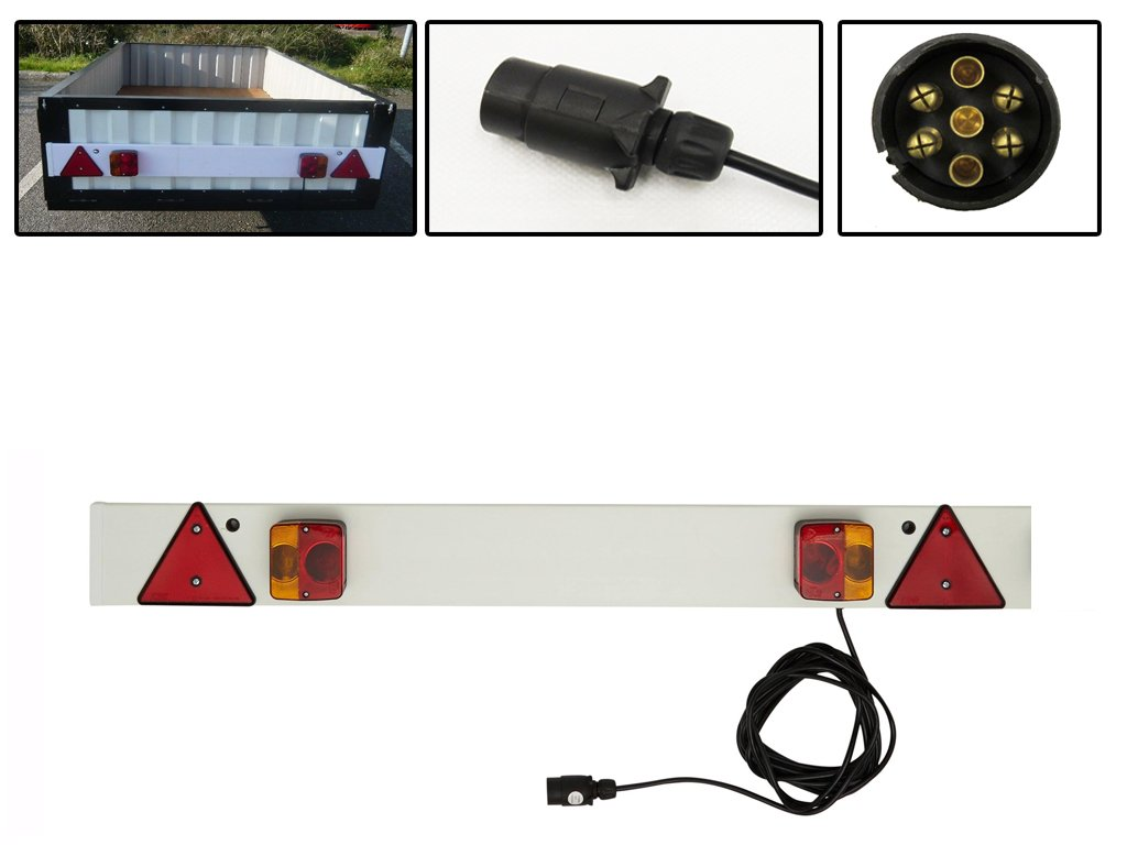 4ft Trailer Light Board with 9.8 Metre Cable
