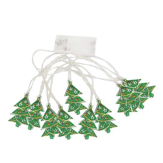 Bestoyard Weihnachtsbaum String Licht Led Lichter Weihnachten Licht