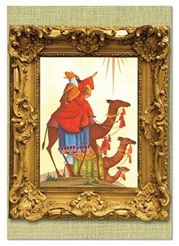 Kings Holiday Card Three (NobleWorks ''We Three Kings'' Funny Merry Christmas Greeting Card, 5'' x 7'' (C1745GXSG))