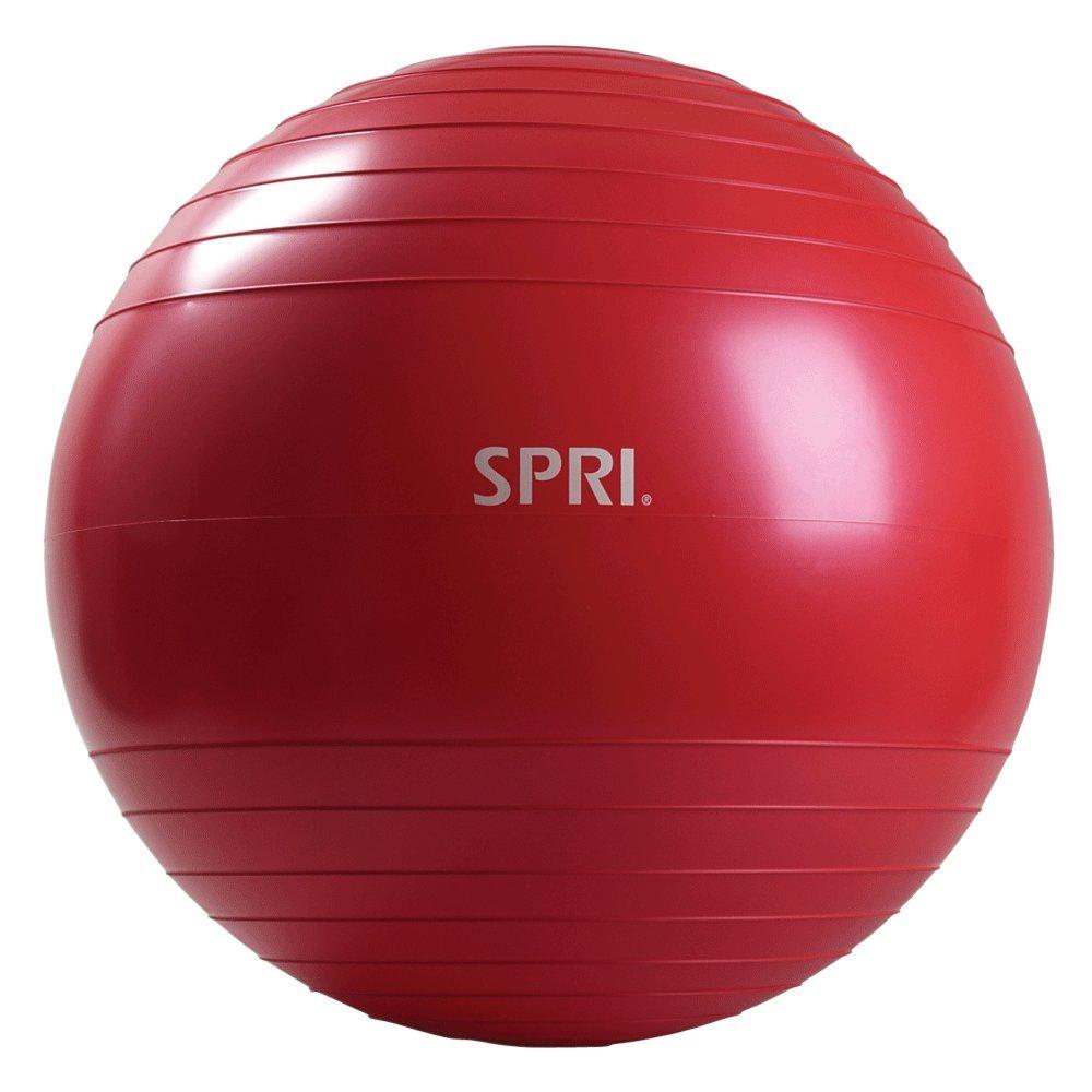SPRI Elite Xercise Balance Ball, Red, 65cm