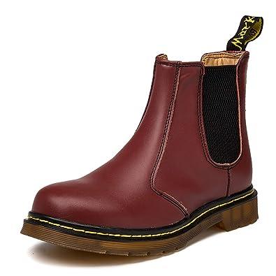 separation shoes 3a322 89f18 Orktree Unisex-Erwachsene Chelsea Boots Damen Stiefel Derby Wasserdicht  Kurz Stiefeletten Schuhe Herren Worker Boots