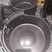 Innsky Freidora sin Aceite 5,5L con Libro de Recetas, Panel táctil 8 Modos, Tiempo y temperatura ajustable, Freidora de Aire Caliente 1700W con función de Pausa y reinicio, sin BPA PFOA, Regalo