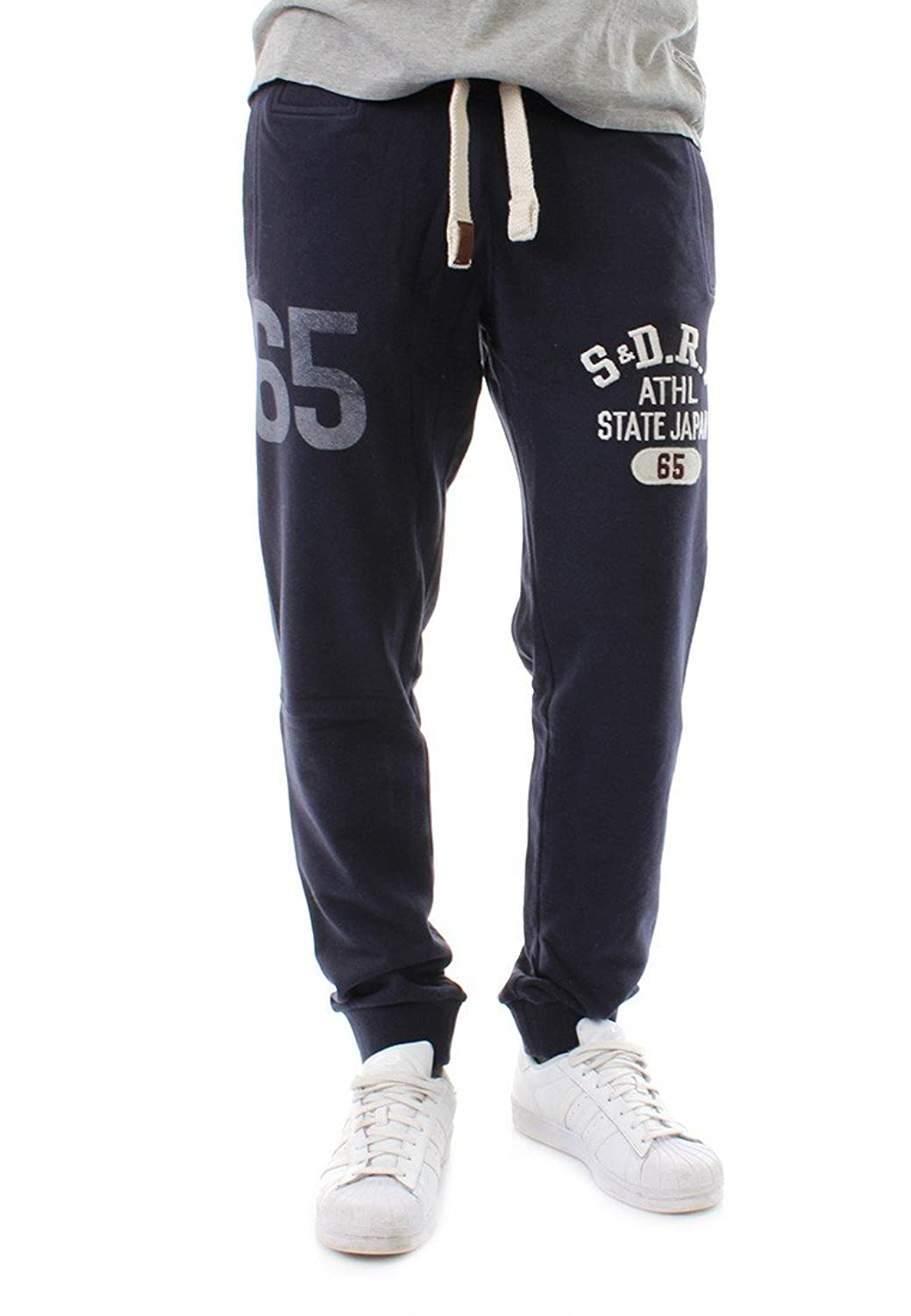 Superdry Jogginghose Men CORE APPLIQUE JOGGER Rigging Navy