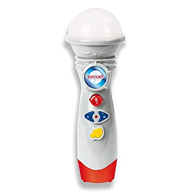 The Original Toy Company BONTEMPI Karaoke Microphone with Demo Songs by BONTEMPI: Toys & Games