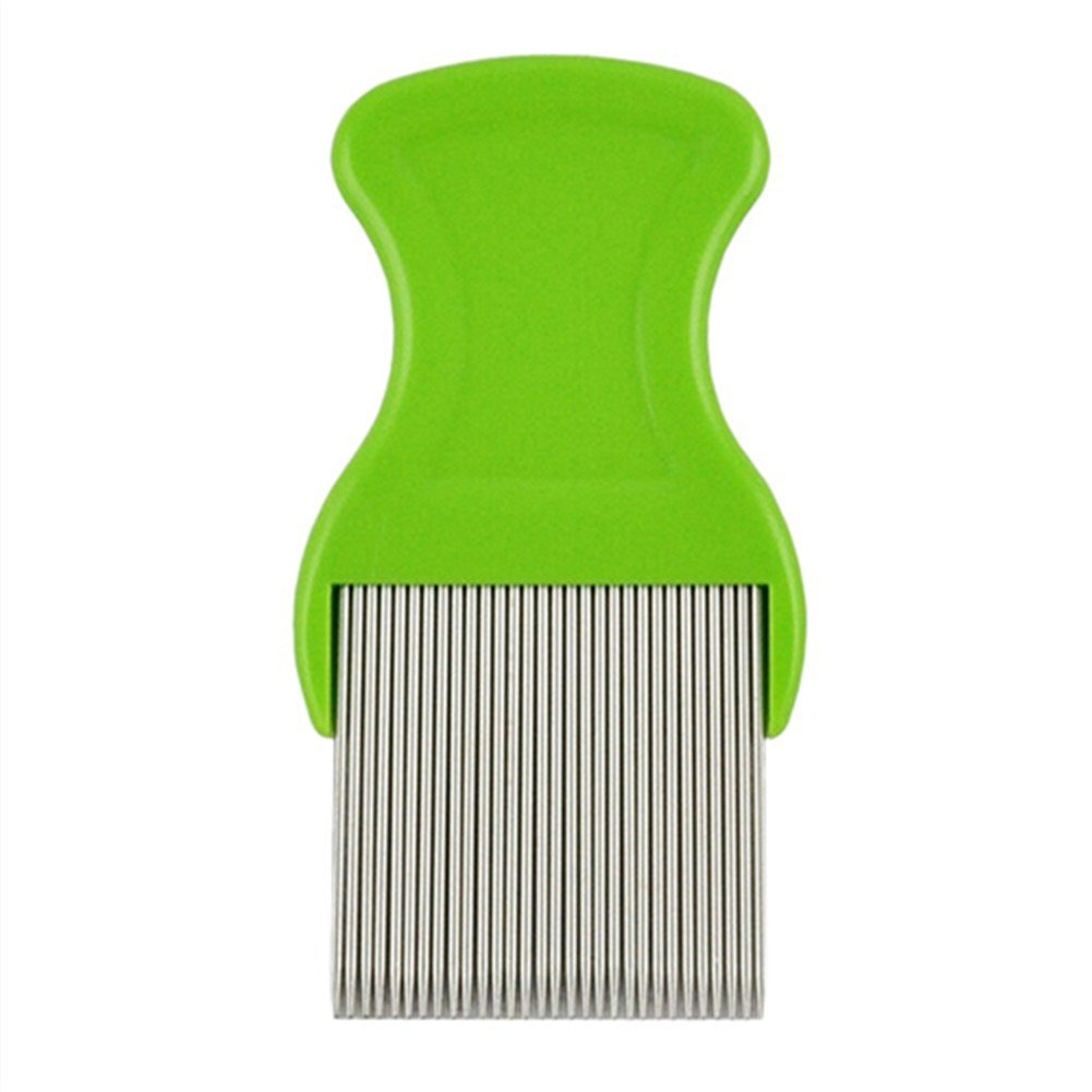 Stainless Steel Pet Cat Puppy Dog Lice Flea Removal Comb Fine Teeth Pet Louse Pet Hair Grooming Deshedding Brush