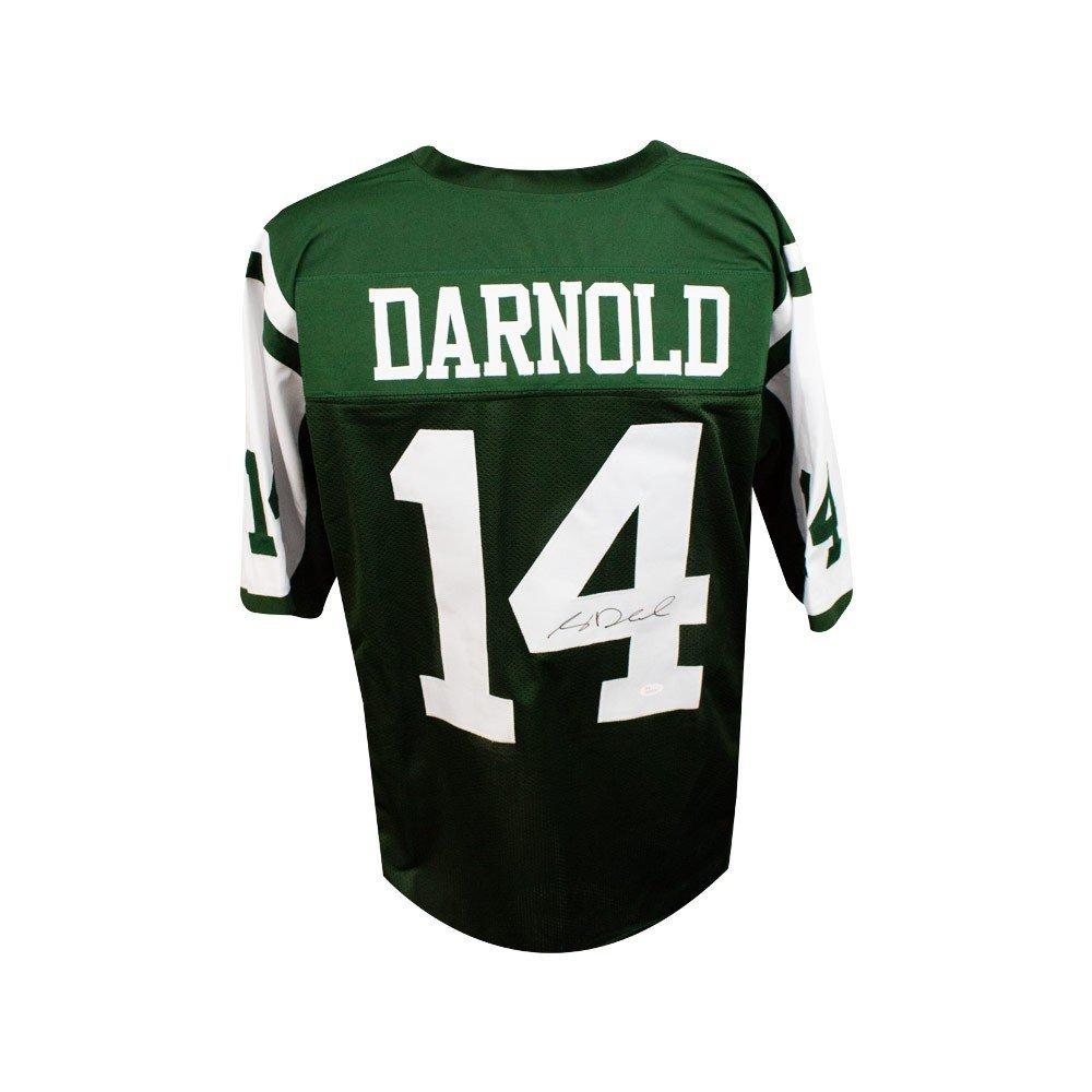 Sam Darnold Autographed Custom Green Football Jersey - JSA COA (B) at  Amazon s Sports Collectibles Store 4dfaa7641
