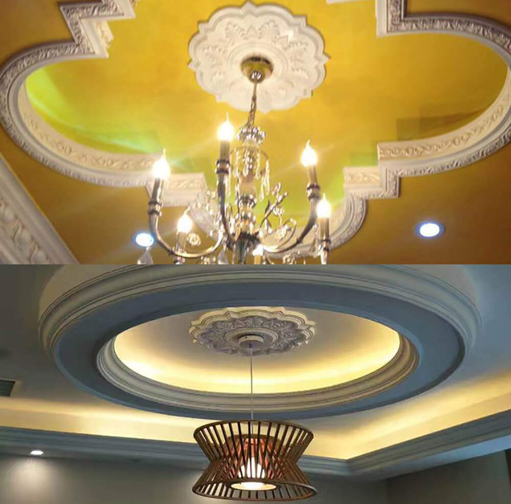 Decor PU Moulding M-7120 Deria Ceiling Medallion for Wall Art Decor ...