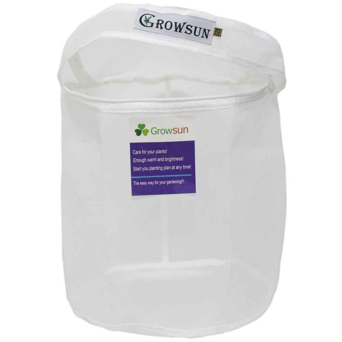 Growsun 5 Gallon 220 Micron Zipper Bag for Extracting Washing Machine - Herbal Extractor Durable Filter Bag by Growsun