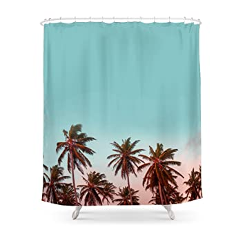 Society6 California Shower Curtain 71quot