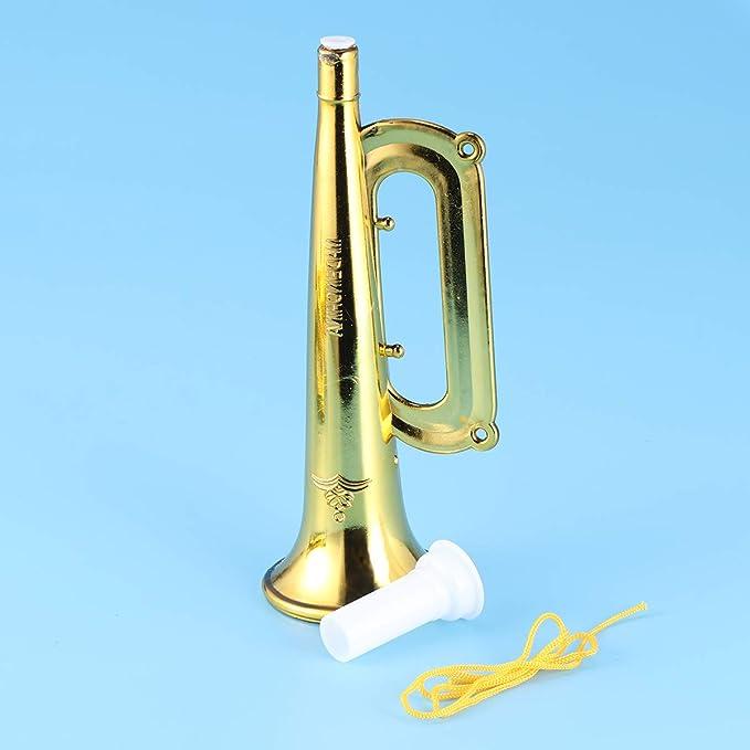 LIOOBO 20Pcs Trumpet Plastic Pumpkin Shaped Fun Musical Instruments Noise Makers For Parties And Events Random Color