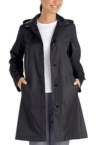 Sudadera Con Capucha Mujer Monocolor Mediados De Longitud Trenchcoats Abrigo