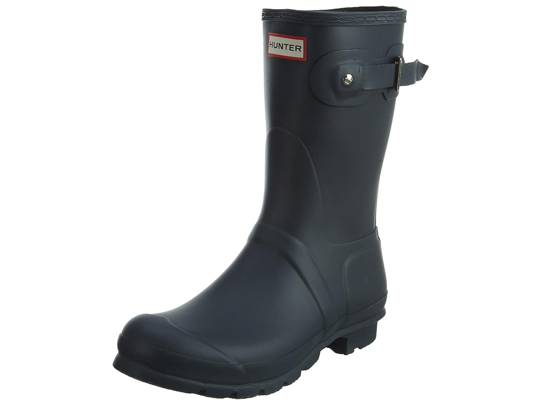 Hunter Women'S Original Short Mid-Calf Rubber Rain Boot6 M US|Navy