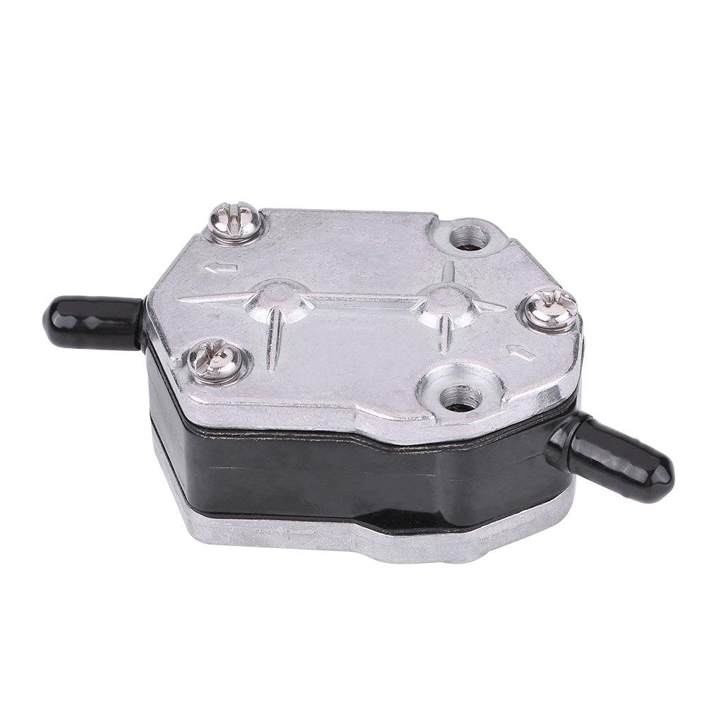 Keenso Aluminium Gas Kraftstoffpumpe Benzinpumpe /Ölpumpe Rechteckig