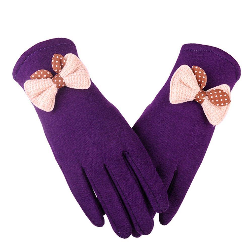 Outlet Scrox 1X Unisex moda guantes cálidos ropa de otoño y guantes de  decoración de arco 1c387bea06d