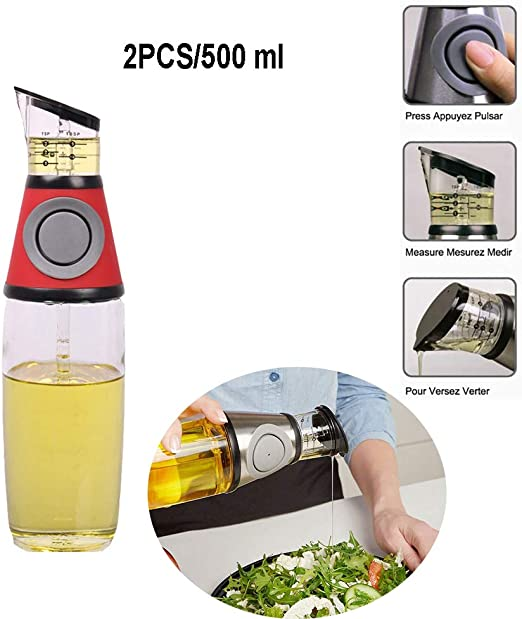 Vinagre de aceite de oliva botella de salsa de soja con etiquetas ...
