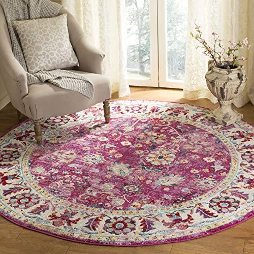 Safavieh Savannah Collection Premium Wool Round Area Rug
