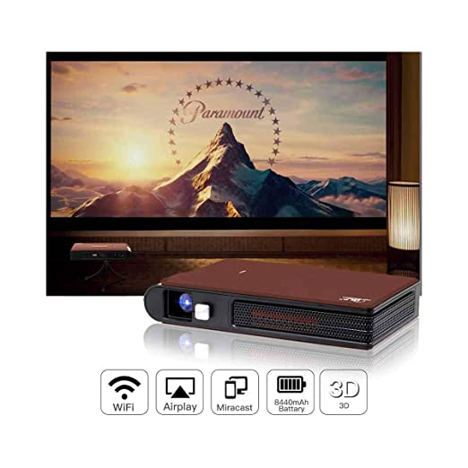 Proyector Mini proyector portátil DLP WiFi Proyectores Multimedia ...
