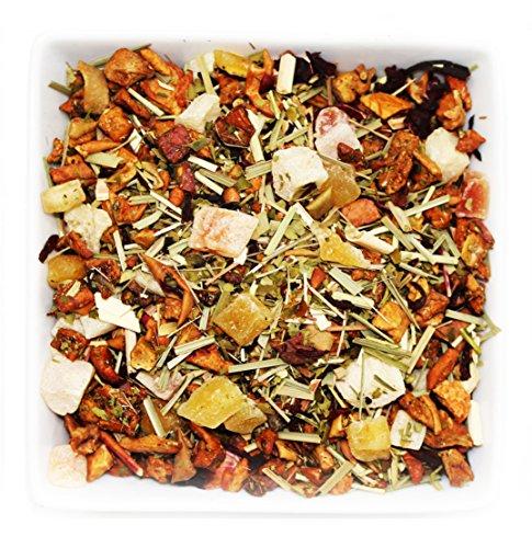 Tealyra - Ice Cider - Mango Mate Fruit Tea - Loose Leaf Tea - Caffeine Free - 8oz/222g