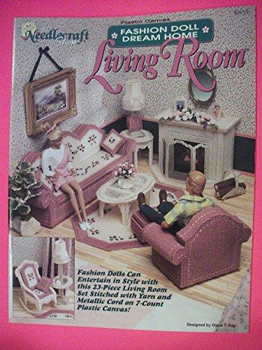 Fashion Doll Dream Home Living Room (Canvas Plastic Fashion Doll)