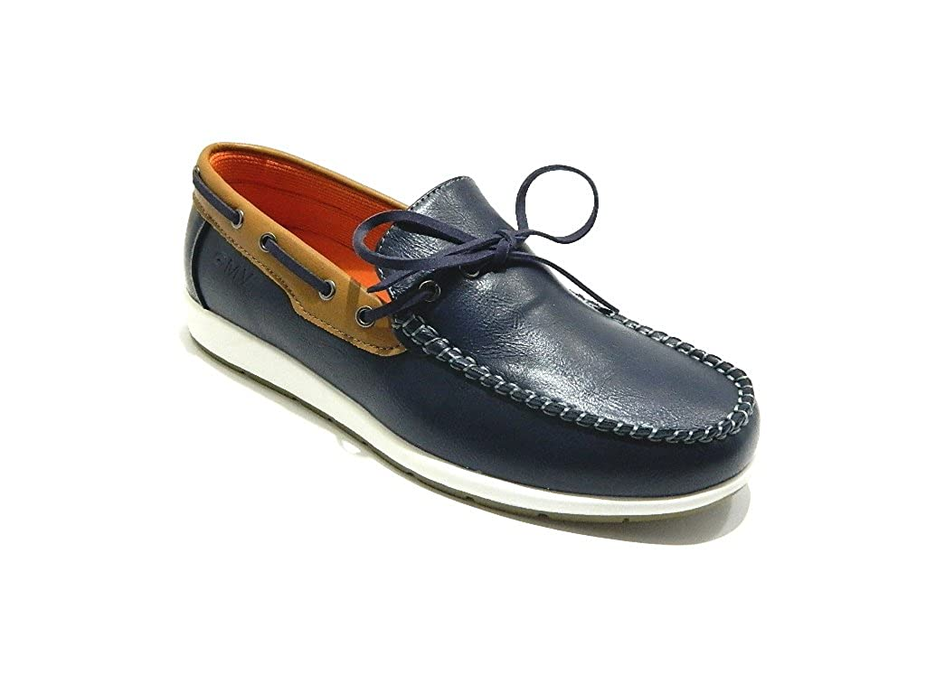 GMV 006 Scarpe Uomo Mocassini Barca Blu: Amazon.it: Scarpe e