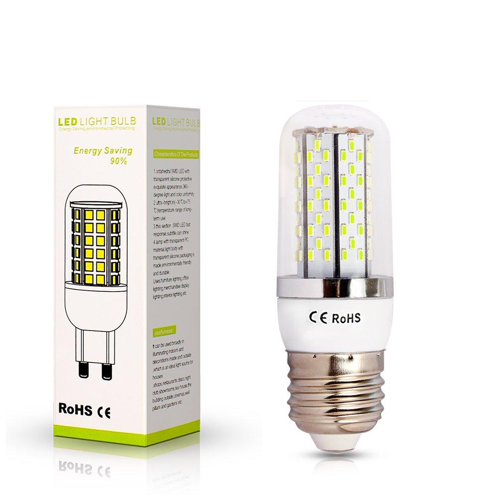 ELINKUME Bombilla Lampara Luz Blanco frío E27 8W 120 LED 3014 SMD AC85-240V Bajo Consumo Casa: Amazon.es: Iluminación