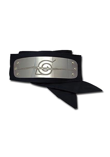 Amazon.com: Banda de cabeza Great Eastern Naruto Anti Leaf ...