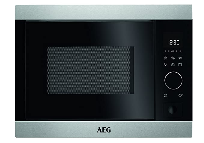 AEG MBB1756S-M acero fino Einbau-microonda Solo: Amazon.es ...