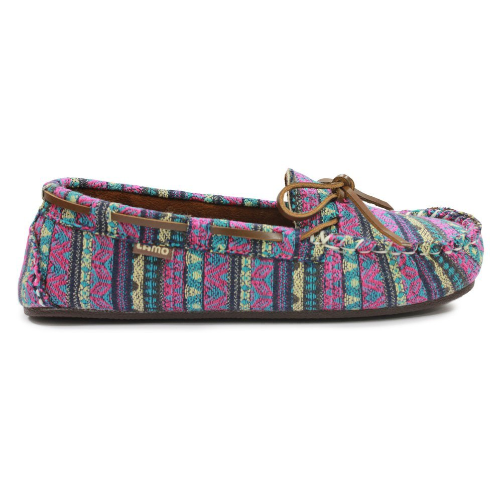 Lamo Womens Sabrina Moc II Moccasin (8.5 B(M) US, Tribal Blue)