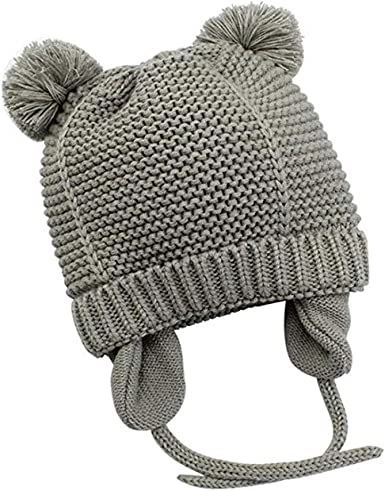 Girls Toddler Beanies Newborn Fashion 1pcs Baby Knitted Hat Kids Warm Winter