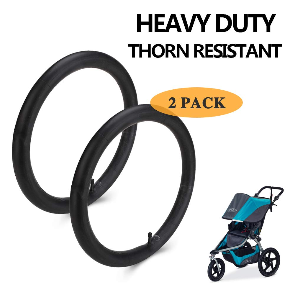 16''x 1.75/2.15 Back Wheel Replacement Inner Tubes For BOB Revolution (SE/Pro/Flex), Graco FastAction Fold, Baby Trend Expedition, Graco Click/Go Jogging Strollers - Rear Stroller Tire Tube (2-Pack) 61mhGrPZyZL