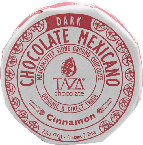 Taza Chocolate Organic Chocolate Mexicano Disc Cinnamon -- 2.7 oz