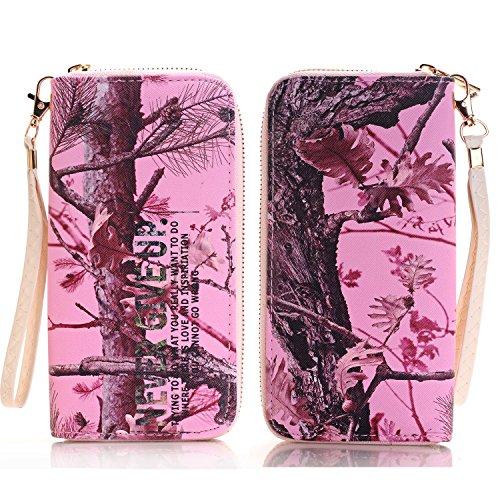BAYKE Women's Purse Wallet Burse Clutch Billfold Handbag Cell Phone Carrying Case for Samsung Galaxy Grand Prime Core Prime Alpha Avant Ace Style LTE , S6 S7 edge ect.