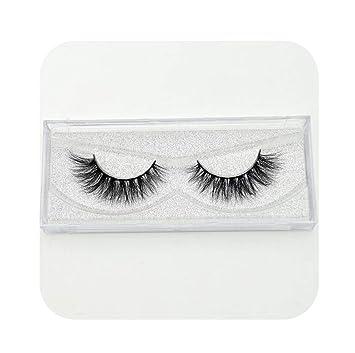be5275c466e Amazon.com : Mink Eyelashes Hand Made Crisscross False Eyelashes Cruelty  Free Dramatic 3D Mink Lashes Long Lasting Faux Cils for Makeup Tools,  Barry-Story ...