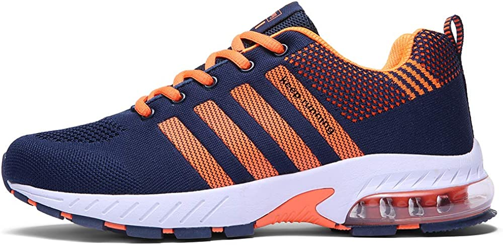 Ahico Men Women Running Shoes Tennis Shoe Air Cushion Lightweight Fashion Walking Shoes Sneakers Breathable Athletic Training Sport
