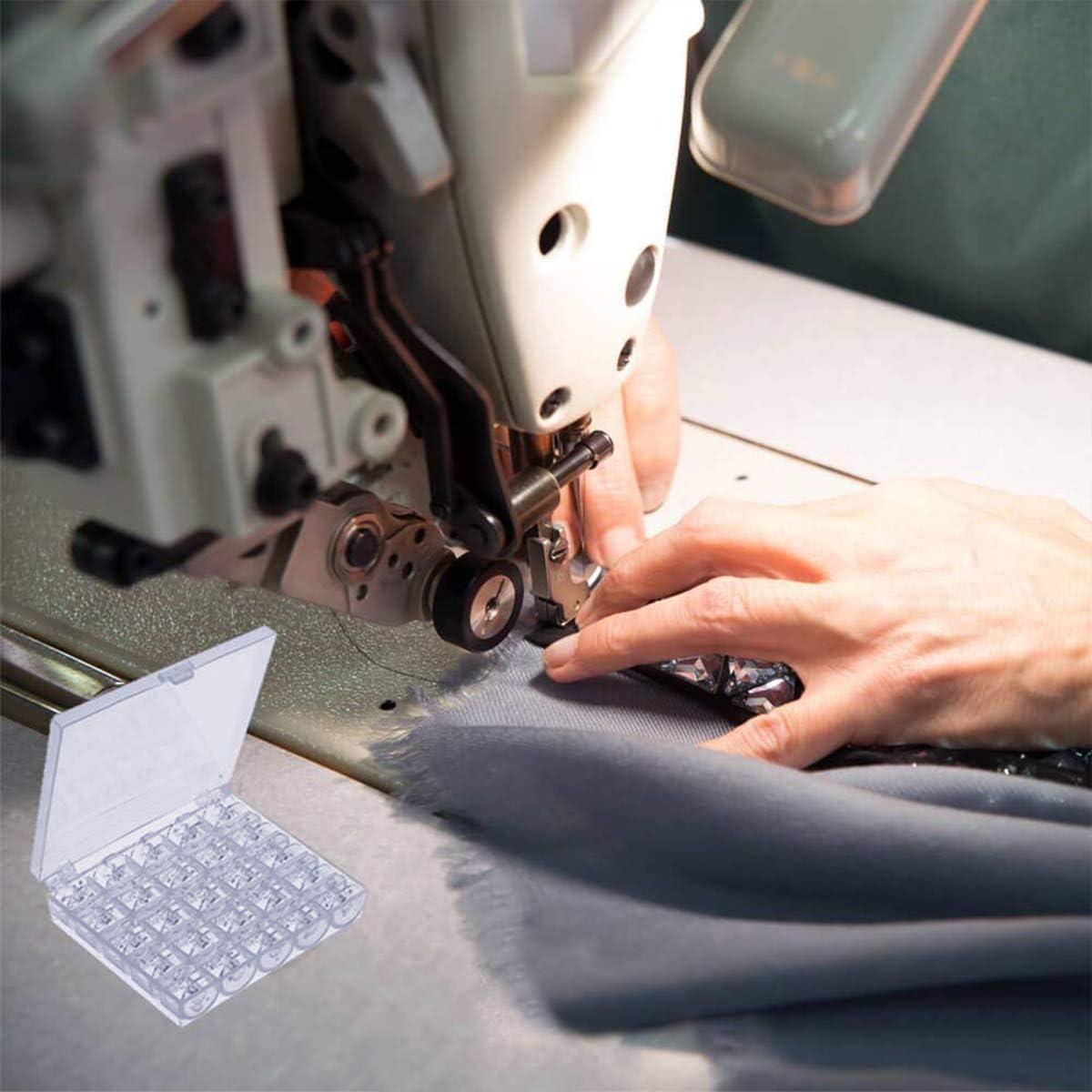 Bobbin - Bobinas de plástico para máquina de coser (25 unidades ...