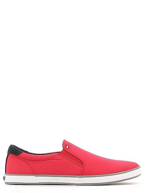 Tommy Hilfiger Hombre h2285arlow 2D Slipper, Color Rojo, Talla 40: Amazon.es: Zapatos y complementos