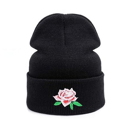 Amazon.com  Children Hat Skullies   Beanies Warm Cap for Girls Hats ... 5cd12de4fe5