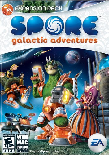 Spore Galactic Adventures Expansion Pack - PC/Mac, Requires Spore to play. (Spore)