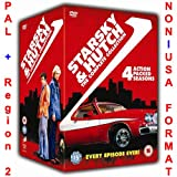 Starsky and Hutch - Complete Series Collection [NON-U.S.A. FORMAT: PAL + REGION 2 + U.K. IMPORT] (1/2/3/4 Action Packed Seasons)