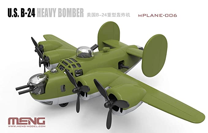 Amazon.com: Meng MNGMKP006 Kids B-24 Liberator: Toys & Games