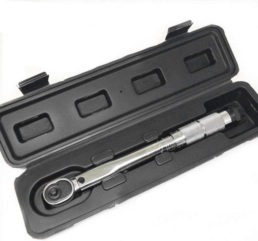 XUXUWA Wrench 1//4 Inch 5 to 25nm5nm Click Adjustable Torque Wrench Bicycle Repair Tools kit Set Bike Repair Tool Spanner Hand Tool Set