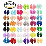Best Bows - Txyk 40Pcs 3 inch Baby Hair Bows For Review