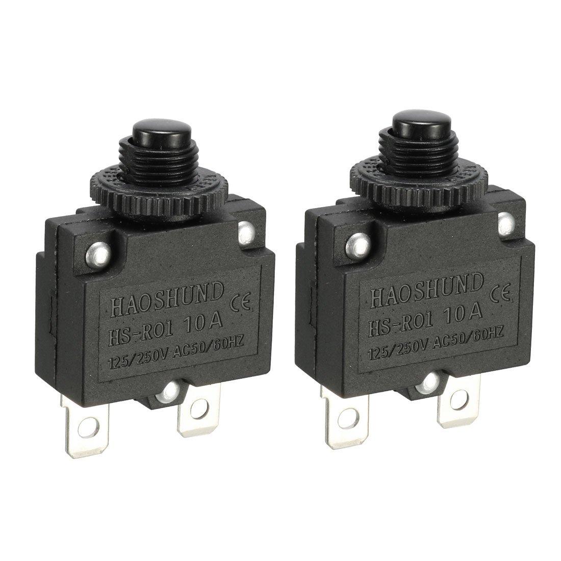 Compresseur dair Disjoncteur 10/A Protection surcharge ST-101E Lot de 2