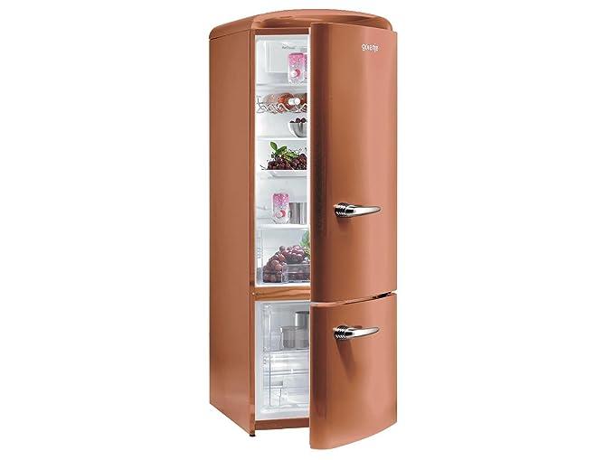 Gorenje RK 60319 OCR nevera y congelador Copper marrón retro Stand ...