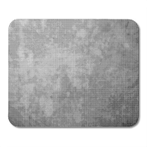 Grunge Overlays - Boszina Mouse Pads Brush Beige Overlay Grunge Halftone Dots White Abstract Dirty Mouse Pad for notebooks,Desktop Computers mats 9.5